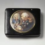 Snuffbox depicting portraits of Kutuzov and Suvorov