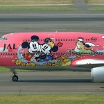Disney cartoons in aircraft graffiti