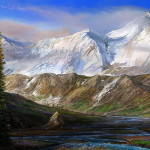 May your mountains rise into and above the clouds. Edward Abbey