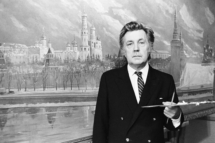 Artist historian and philosopher Ilya Glazunov (June 10, 1930 - July 9, 2017)