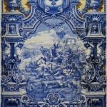 Battle scene, Azulejo art