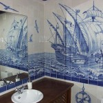 Sea theme in Azulejo art