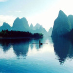 Magnificent view of the River Lee in China