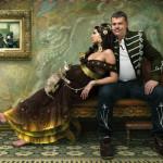 Gypsy woman. Beautiful fantasy world in photoart of Russian photographer Vladimir Fedotko