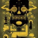 Bog In Mine Skull. Illustration by Graham Erwin