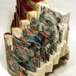 World history Conceptual sculptures from books by American artist Brian Dettmer
