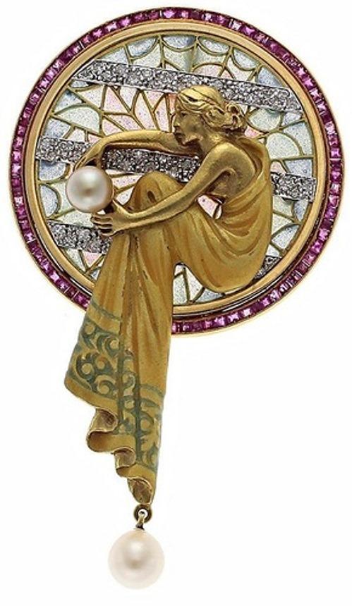 Beautiful Art Deco Art Nouveau jewelry