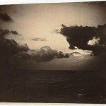 'Cloud study' by Gustave Le Gray (French, 1820–1884), 1856-1857. albumen silver print from glass negatives, Maurice Sendak