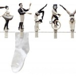 "Beautiful set of circus clothespins ""Pegzini Family"", designed by artists Oded Friedland and Inbal Hoffman"