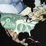 Currency World Maps. North America