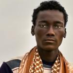 A man from Danakil Depression desert