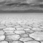 Dry soil of Danakil Depression desert