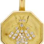 Diamond, Gold Pendant, Slane & Slane