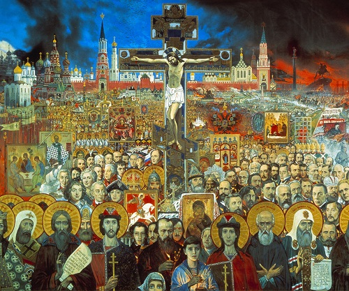 Detail of Eternal Russia