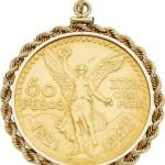 Gold Coin, Gold Pendant