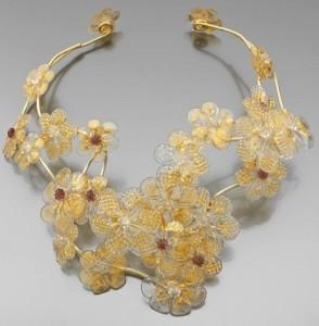 Murano glass necklace Stefano Poletti