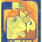 Illustration & Design by American artist Graham Erwin