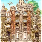 Picture of Ideal Palace by Ferdinand Cheval