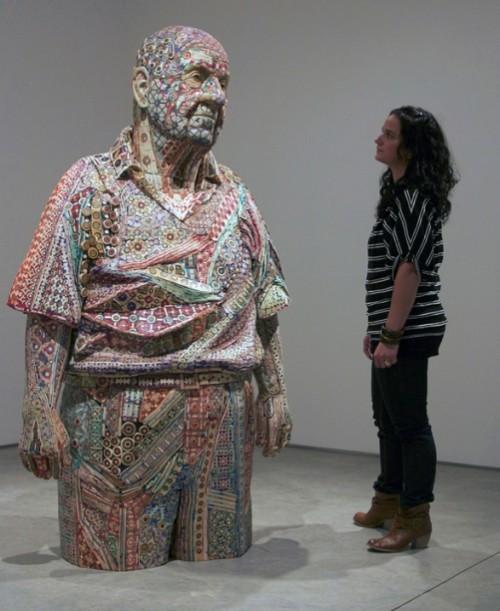 Michael Ferris's sculpture