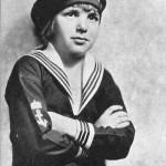 Young sailor John Leslie Coogan