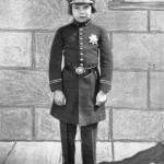 In a uniform, John Leslie Coogan