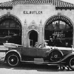Touring on his first Rolls Royce