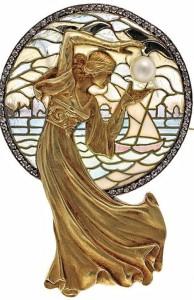 Luis Masriera Art Deco jewelry