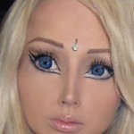 Living doll or alien girl from Russia