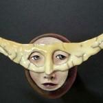 Weird Mask by Californian artist Peggy Bjerkan