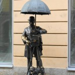 Monument to photographer