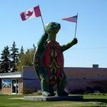 turtle monument