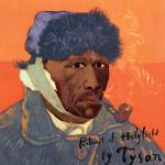 """Portrait of Holyfield by Tyson"". Painting by creative Belarusian studio Tsesler&Voichenko"