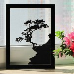 Lonely tree. Paper silhouette by Dmitry and Julia