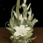 Lily, Porcelain composition