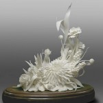 Exquisite Porcelain flowers by creative group 'Lyudmila'