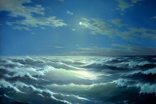 Realistic seascapes by Georgy Dmitriev