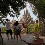 Built using ancient Thai construction techniques and wood carvings, The Temple of Truth