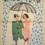 Romanian movie poster Singin' in the Rain, 1952