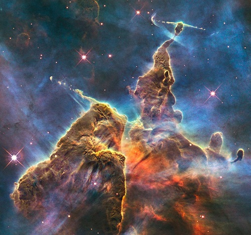 mosaic by Alex Parker. The Carina Nebula