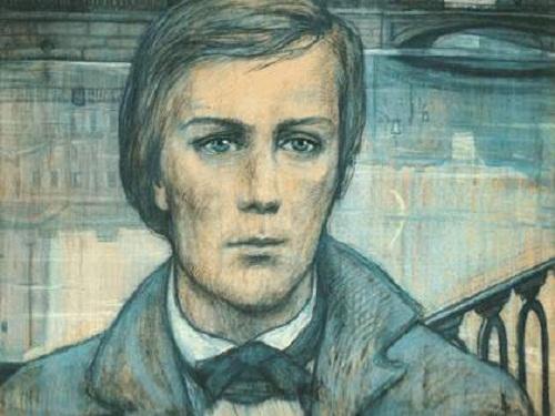 The Dreamer. Illustration for F. Dostoyevsky's short story 'White Nights'. 1970
