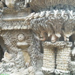 Amazing sculptural works, detail of facade