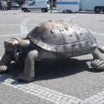 Bordeaux, France. Tortoise monument