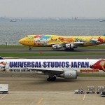 Universal studio Japan. Aircraft graffiti