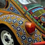 Volkswagen, bead decorated