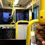 In a tram