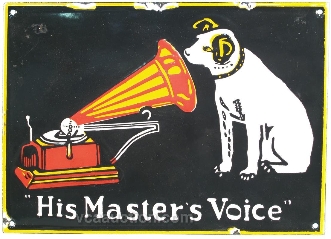 Image result for his master's voice logo