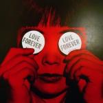 Love forever art by Japanese artist Yayoi Kusama