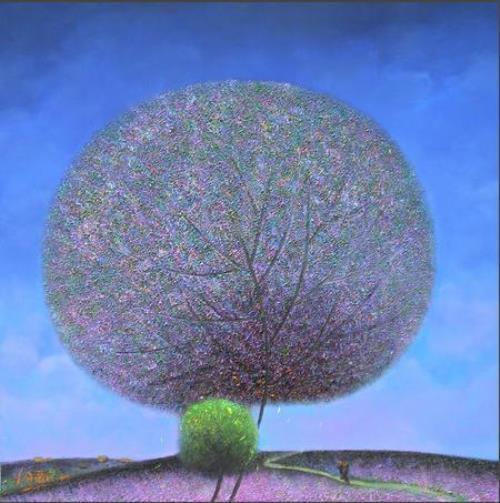 Dandelion trees by Vu Cong Dien