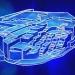 Computer processed graphics – pyramids of Yonaguni