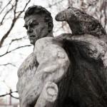 Work by sculptor Vuchetich